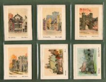 Cigarette cards set  tobacco cards England Historic & Picturesqu